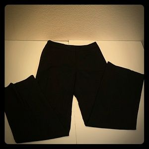 Ann Taylor Ladies office black dress pants size 0